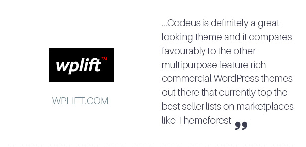 Codeus — Multi-Purpose Responsive Wordpress Theme - 6
