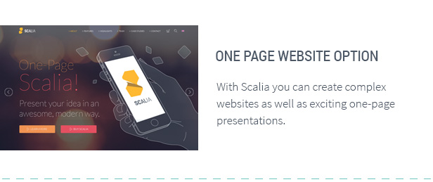Scalia - Multi-Concept Business, Shop, One-Page, Blog Theme