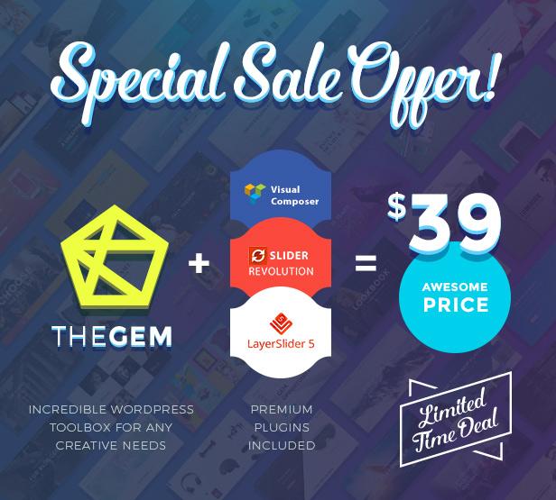 TheGem - Creative Multi-Purpose High-Performance WordPress Theme Download