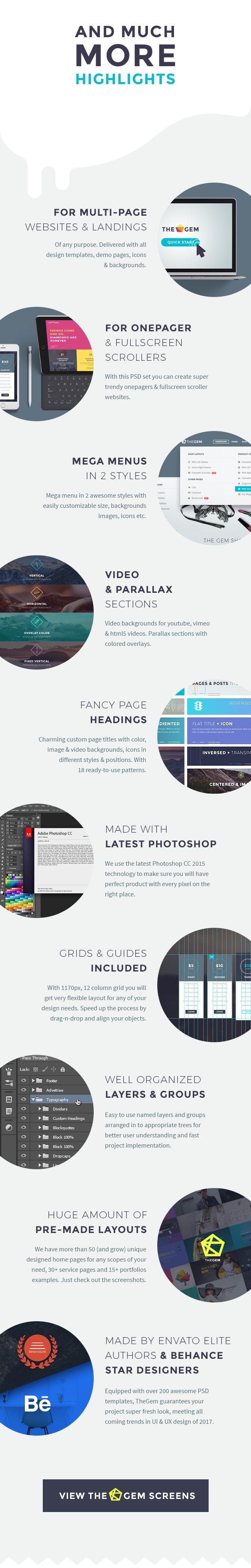 TheGem - Creative Multi-Purpose PSD Template - 6