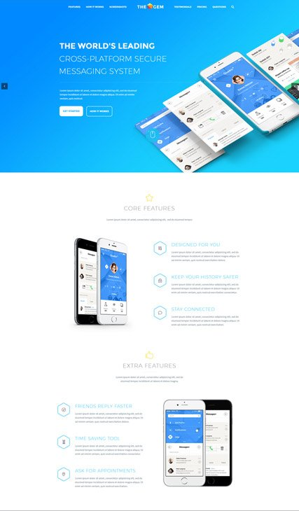 App one-pager