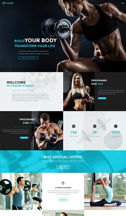 Gym & Fitness 01