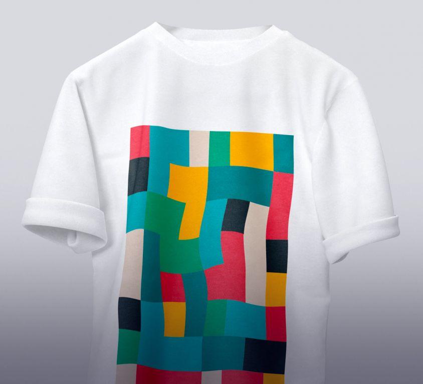 T-shirt color design
