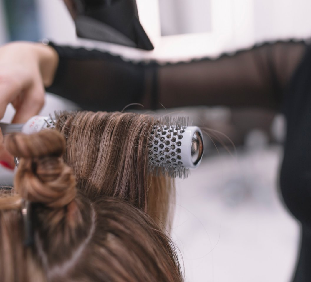 Hair coloring for woman
