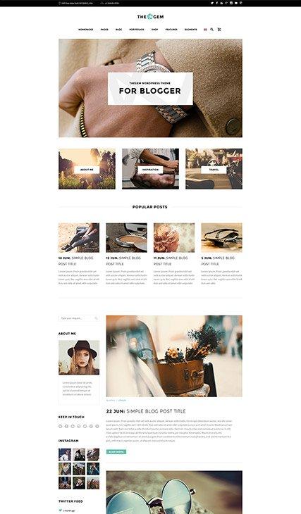 Elegant Blog