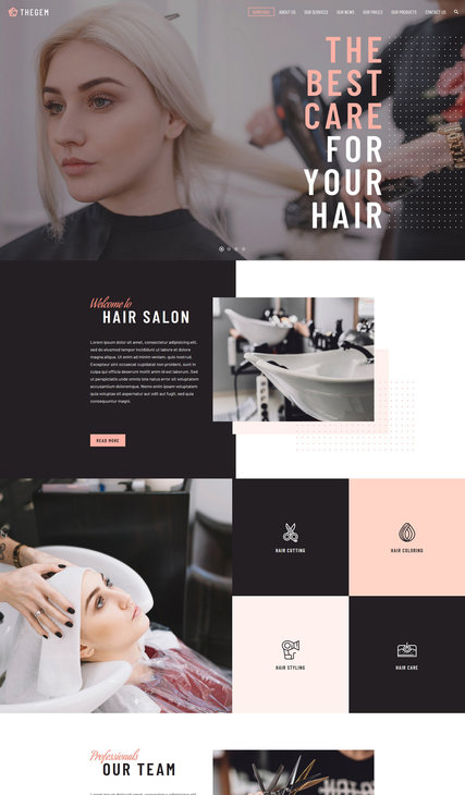Hairdressing Salon 01
