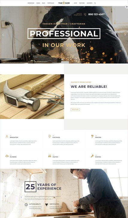 Handyman & Craftsmen